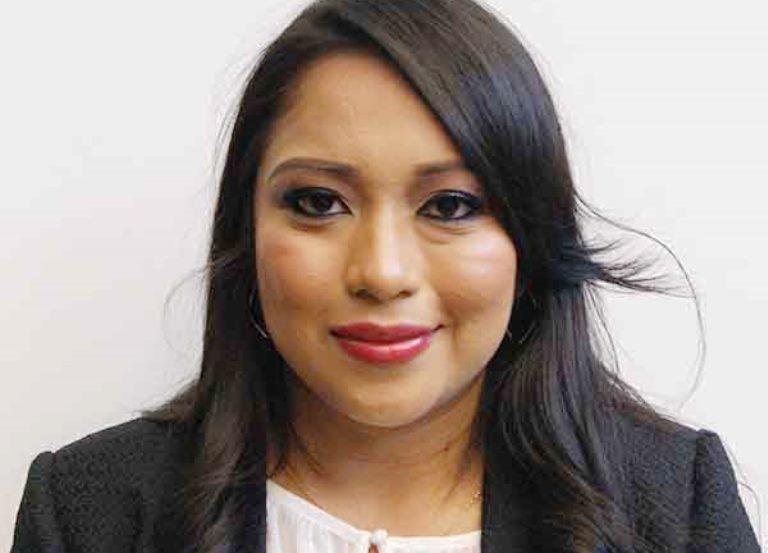 Diputada Sandra Cruz bajo medidas de seguridad por supuestas amenazas de muerte. (Foto Prensa Libre: Congreso)