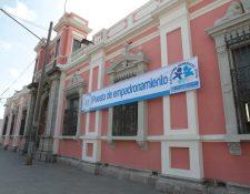 Fachada del Tribunal Supremo Electoral. (Foto Prensa Libre: Hemeroteca PL)