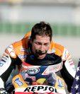 El piloto estadounidense Nicky Hayden, campeón del mundo de MotoGP en 2006, resultó herido de gravedad al ser golpeado con un auto cuando circulaba en bicicleta. (Foto Prensa Libre: AFP)
