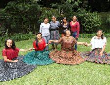 Estas niñas se han convertido en voceras de sus comunidades, con su testimonio y con charlas sobre derechos de las niñas y adolescentes buscan contribuir a frenar los matrimonios forzados. (Foto Prensa Libre: Óscar Rivas)
