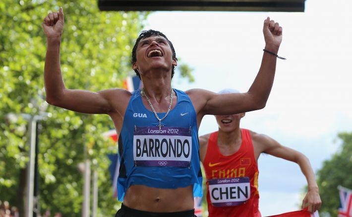 Érick Barrondo está en la mira de Río 2016