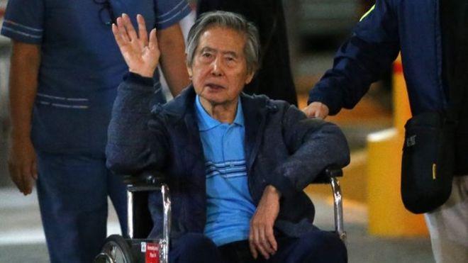 El expresidente Alberto Fujimori (1990-2000) recibió el indulto de PPK un par de días después de que este se salvara de la destitución en el Congreso. AFP