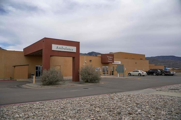 Hospital de El Paso donde murió el niño Felipe Gómez. (Foto Prensa Libre: Hemeroteca PL)