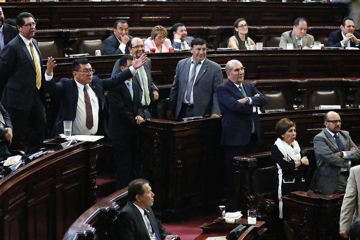 Las reformas fueron aprobadas por el Congreso en tercer debate. (Foto Prensa Libre: Esbin García)
