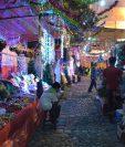 Algunos mercados municipales han extendido sus horarios de venta.(Foto Prensa Libre: Hemeroteca PL)