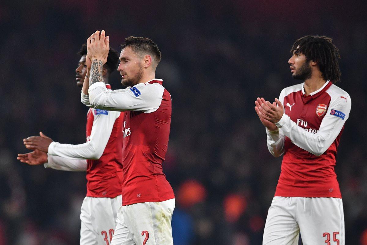 Lazio, Arsenal, Zenit y Dinamo de Kiev clasifican para dieciseisavos de Europa League