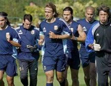 El exdelantero Gabriel Batistuta, aclamado por los seguidores de la selección albiceleste. (Foto Prensa Libre: Hemeroteca PL)