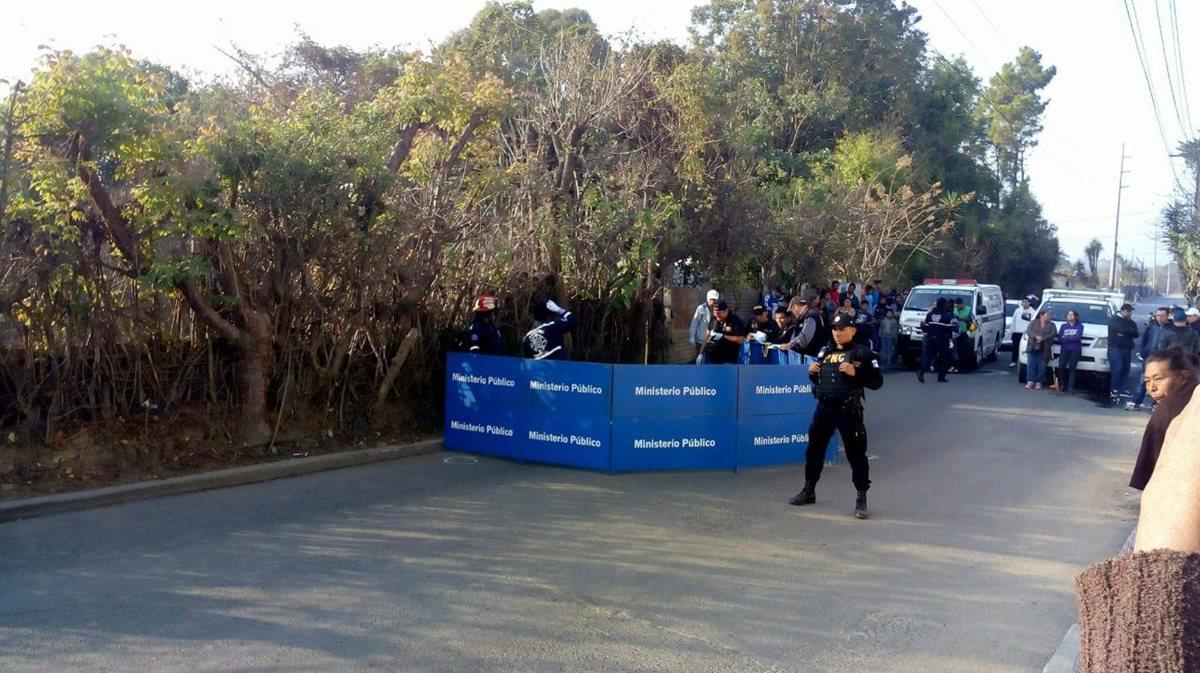 Agente de la PMT de San Juan Sacatepéquez es hallada muerta