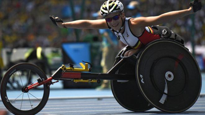 Marieke Vervoort ganó dos medallas en los Juegos Paralímpicos de Río 2016, pero tuvo que despedirse de su carrera deportiva a causa de una enfermedad dolorosa e incurable. (Getty Images)