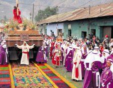 Procesión de Jesús de la Merced recorre la calle ancha el Viernes Santo. (Foto: Edwin Castro)