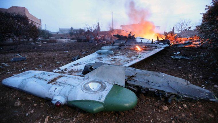 Los aviones rusos por lo general no son derribados debido a su alta tecnología. (Foto Prensa Libre: AFP)