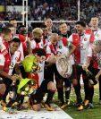 El Feyenoord, de igual manera, se consagró campeón de la Supercopa. (Foto Prensa Libre: AFP)