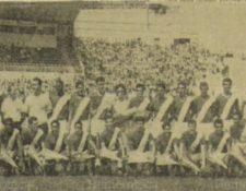 La selección nacional de fútbol en 1967. (Foto: Hemeroteca PL)