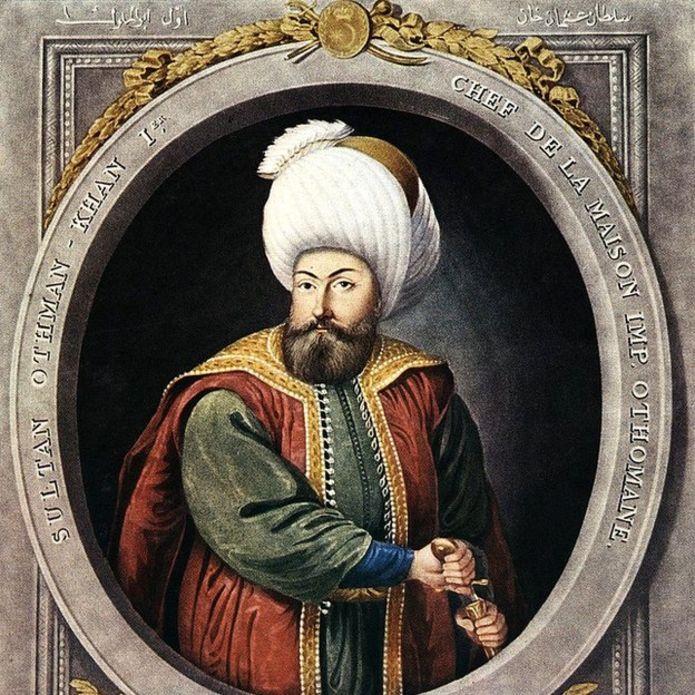 El jefe turco Osmán (1258-1324), considerado el fundador del Imperio Otomano.