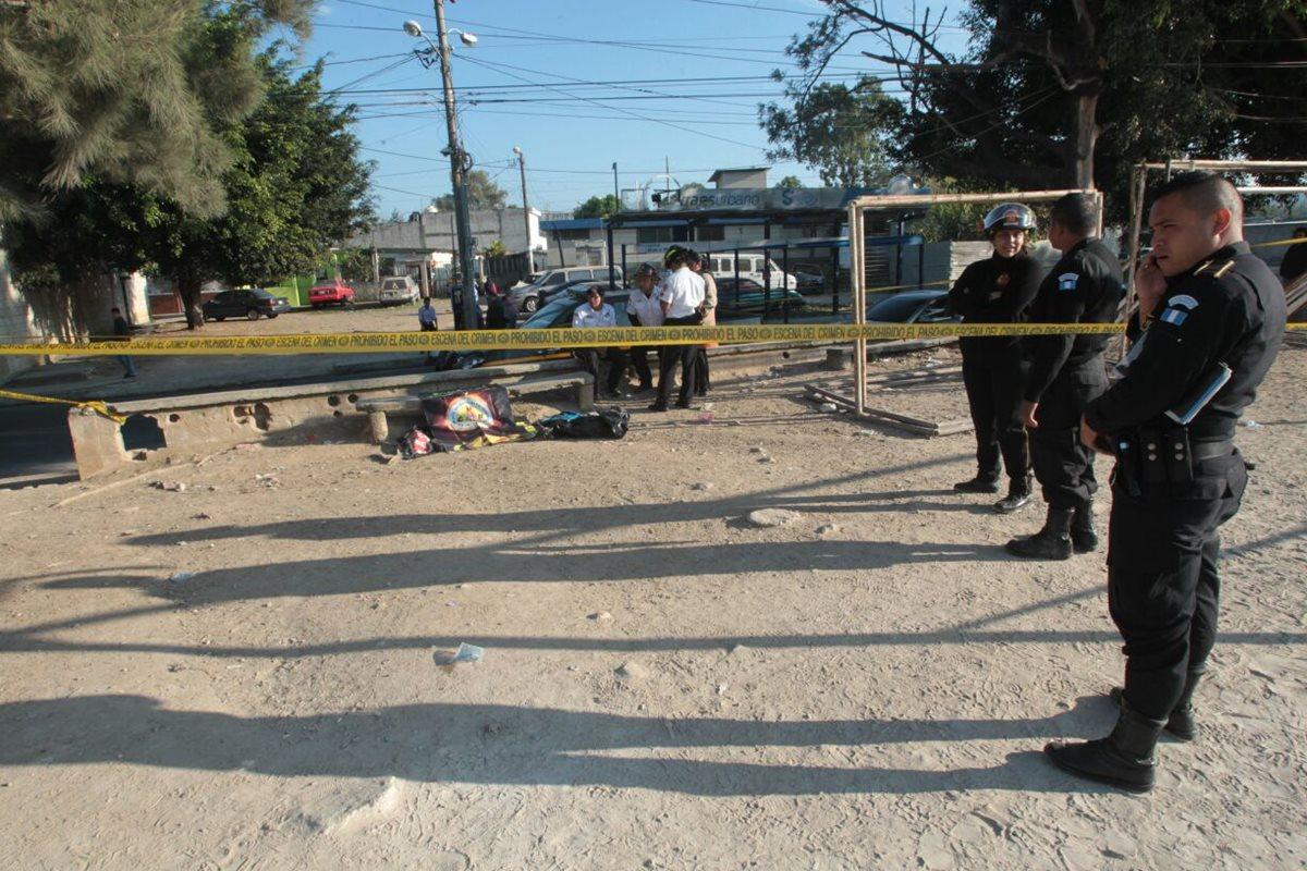 Hallan restos humanos cerca de sede de la PNC