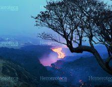 En mayo de 2010 el coloso hizo erupción y dejó miles de damnificados. (Foto Prensa Libre: Hemeroteca PL)