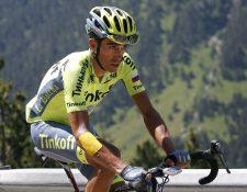 Alberto Contador anunció este lunes su retiro del ciclismo. (Foto Prensa Libre: AP)