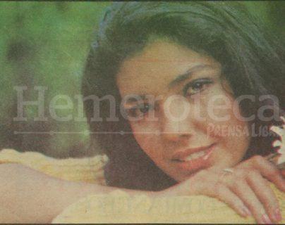 Julieta Urrutia Chang, Miss Guatemala 1984 quedó entre las 10 finalistas de Miss Universo de dicho año. (Foto: Hemeroteca PL)