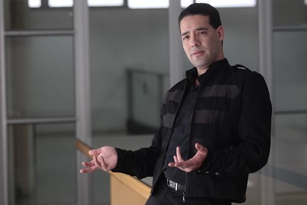 El contratenor Joam Zamora tiene una voz excepcional (Foto Prensa Libre: Álvaro Interiano).