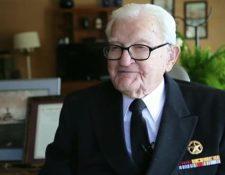 Con 103 años, James Downing es uno de los sobrevivientes vivos más avanzados en edad del Pearl Harbor.