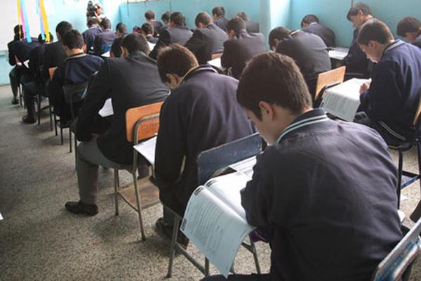 La tasa de niñas que abandonaron la escuela en 2008 fue 5.3 por ciento y durante 2014 fue de 3.27. (Foto Prensa Libre: Hemeroteca PL)
