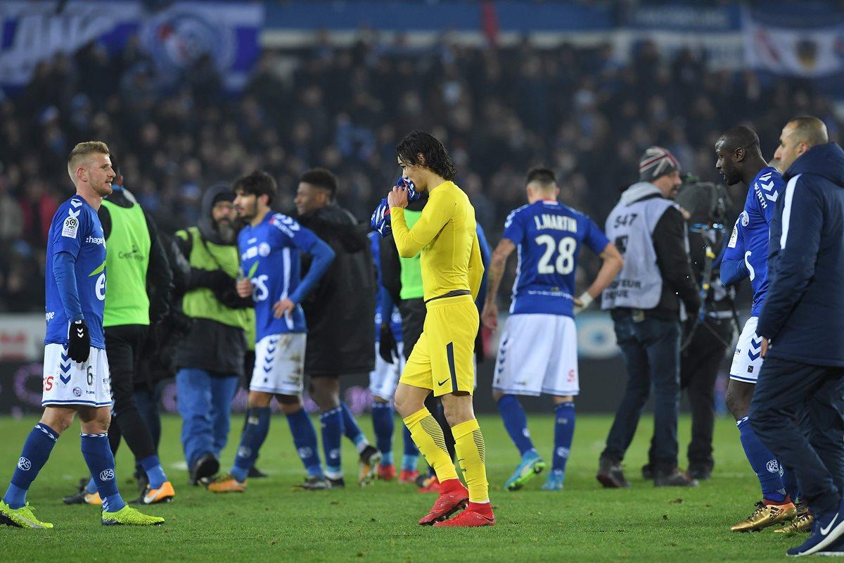 El PSG perdió su marcha impecable y sufrió la primera derrota de la temporada