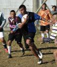 Los presos de una cárcel en Argentina practican Rugby como un método de distracción y recreación. (Foto Prensa Libre: AFP).