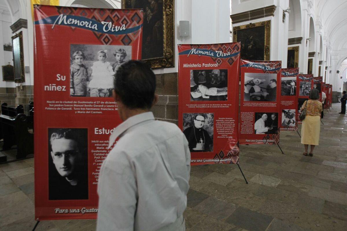 Conmemora 18 aniversario de muerte de monseñor Gerardi