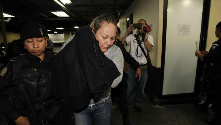 María Marta Castañeda Torres, fue detenida este martes en la zona 8 de Mixco. (Foto Prensa Libre: HemerotecaPL)