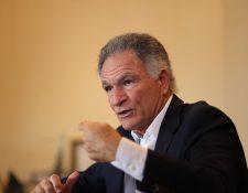 Dionisio Gutiérrez, presidente de la Fundación Libertad y Desarrollo. (Foto Prensa Libre: Esbin García)