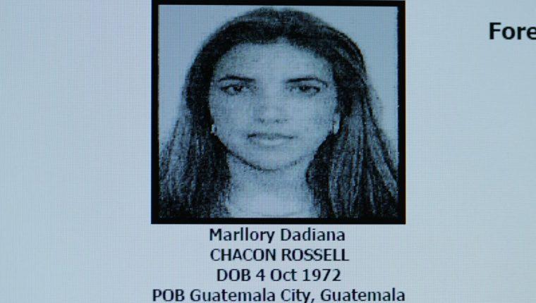 Marllory Chacón, guatemalteca sentenciada a prisión en Estados Unidos por delitos relacionados con narcotráfico y lavado. (Foto Prensa Libre: Hemeroteca PL)