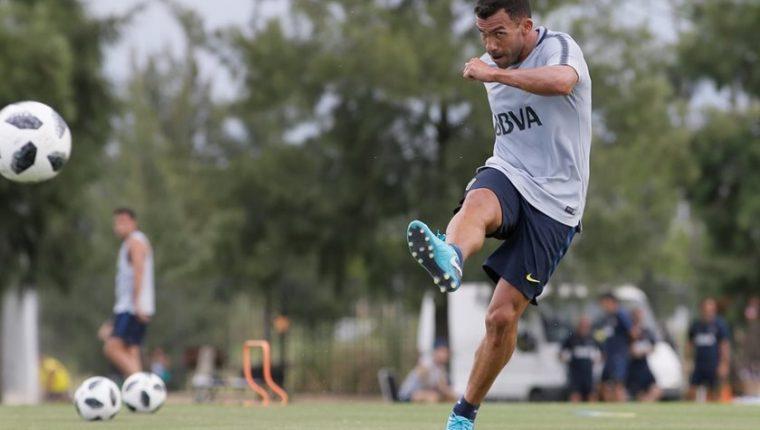 Carlos Tevez afirma que comprende el enfado de los aficionados chinos, pues no dio su mejor desempeño en ese país. (Foto Prensa Libre: Boca Juniors Facebook)