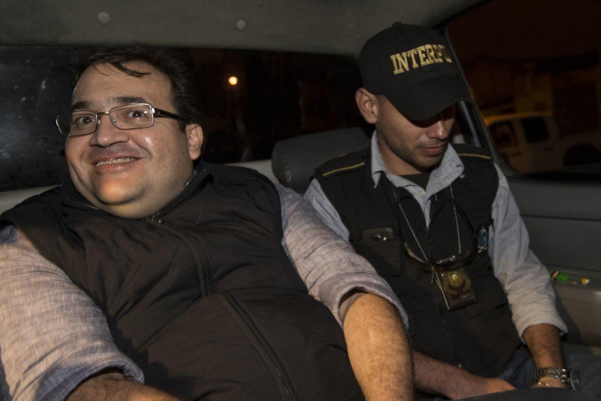 Javier Duarte, exgobernador de Veracruz, capturado en Guatemala, fue recluido en Matamoros