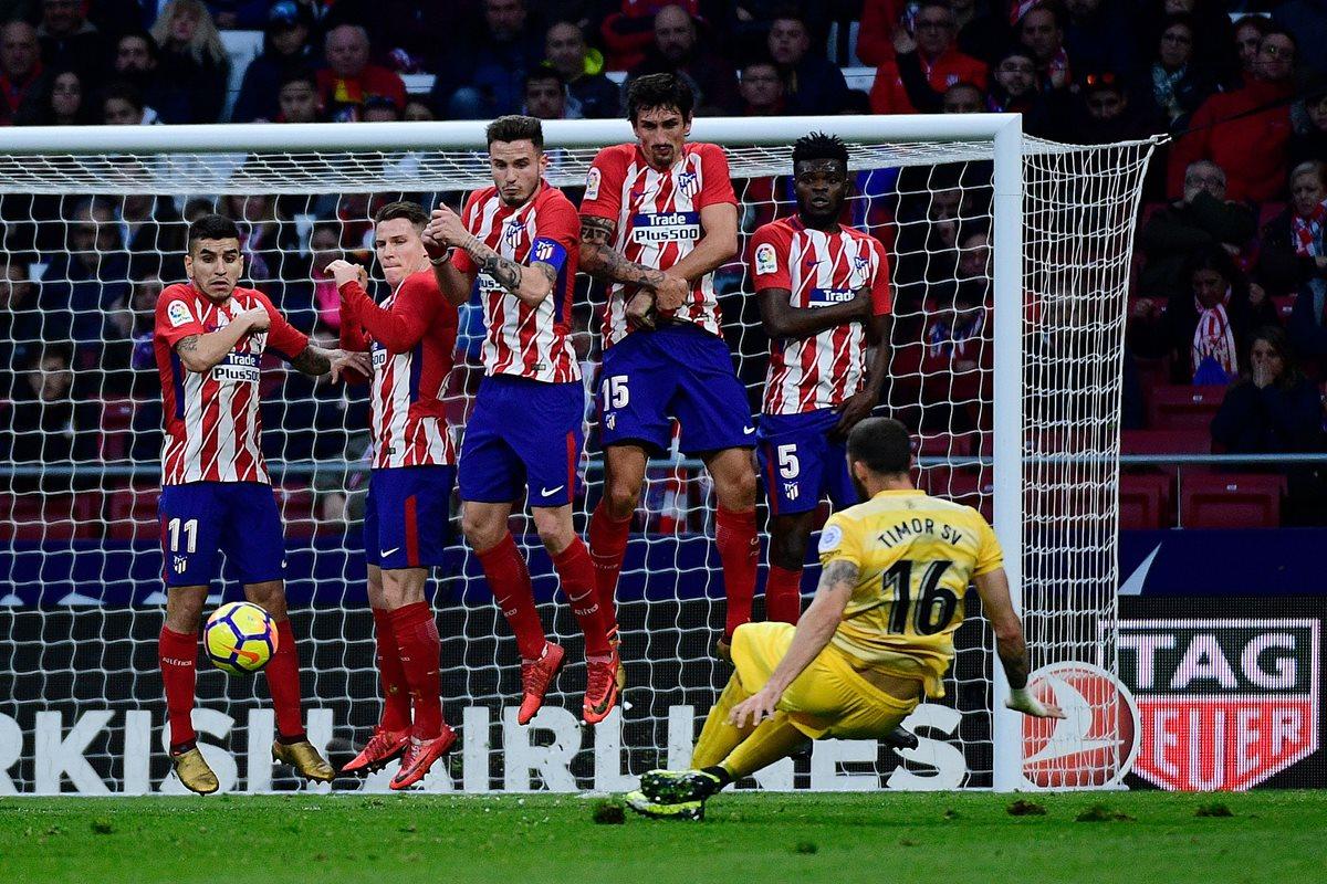 Atlético tropieza con un empate en casa ante el Girona y el Barcelona podría escaparse en el liderato