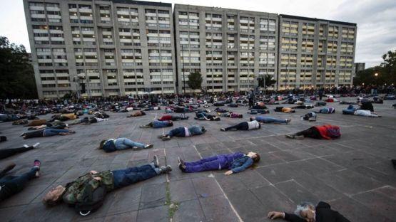 La masacre de Corpus Christi ocurrió tres años después de la más conocida Masacre de Tlatelolco, ocurrida en la Plaza de las Tres Culturas (en la foto). AFP