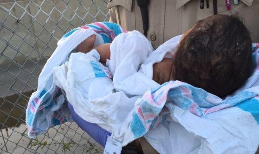 Rescatan a recién nacida cerca de un arroyo en California