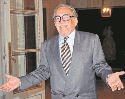 El célebre escritor Gabriel García Márquez nació el 6 de marzo de 1927 y falleció el 17 de abril de 2014. (Foto Prensa Libre: EFE)