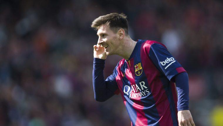 Lionel Messi ha anotado en los últimos partidos en el Santiago Bernabéu. (Foto Prensa Libre: Hemeroteca PL)