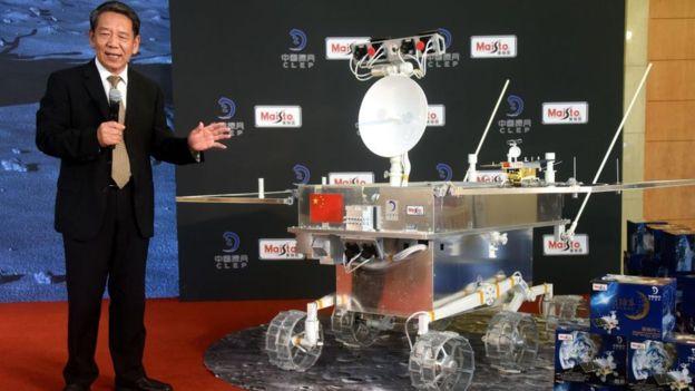 El Chang'e-4 forma parte de un programa más amplio de exploración lunar de China. GETTY IMAGES