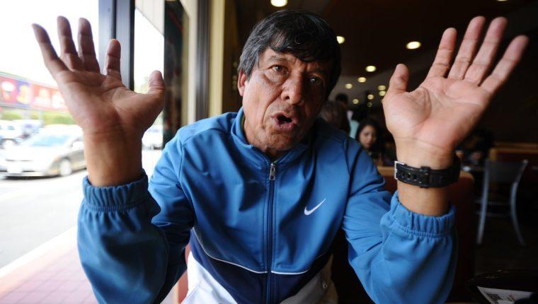 El técnico Benjamín Monterroso habla acerca de la razones por las que no se pudo clasificar a los Juegos Olímpicos de Río 2016 con la selección femenina. (Foto Prensa Libre: Francisco Sánchez)