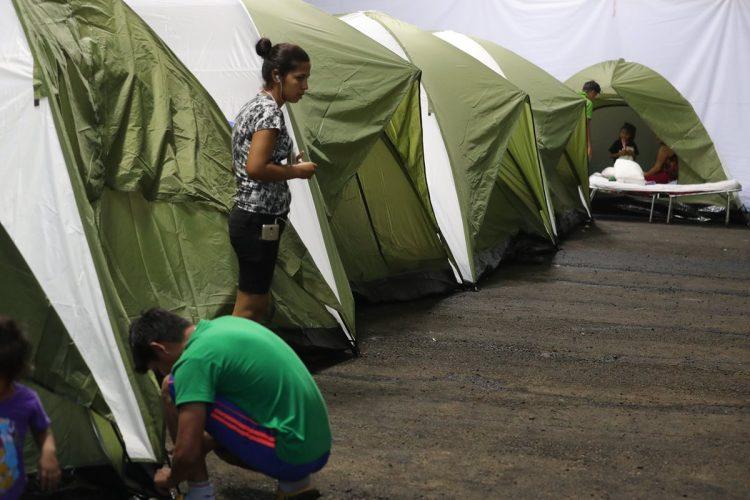 El lunes 25 de junio fueron trasladadas las primeras 28 familias al lugar.