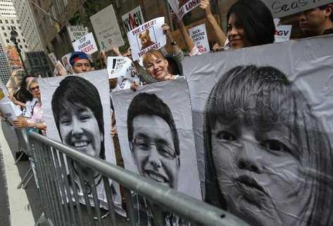 Migración de EE. UU. detuvo a 30  dreamers  que intentaron cruzar la frontera desde México en protesta. (AFP).
