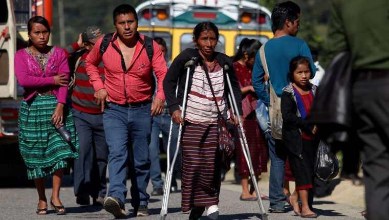 Nueva ley sancionaría como terrorismo a quienes bloqueen carreteras y generen pérdidas económicas o de vidas humanas. (Foto Prensa Libre: Hemeroteca PL)
