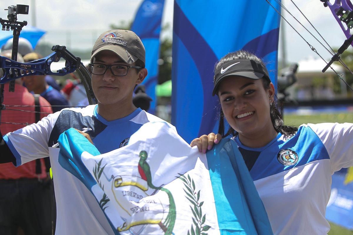 ¿Quiénes son Sofía Paiz y Marcelo del Cid, ganadores del oro histórico para Guatemala en Barranquilla 2018?