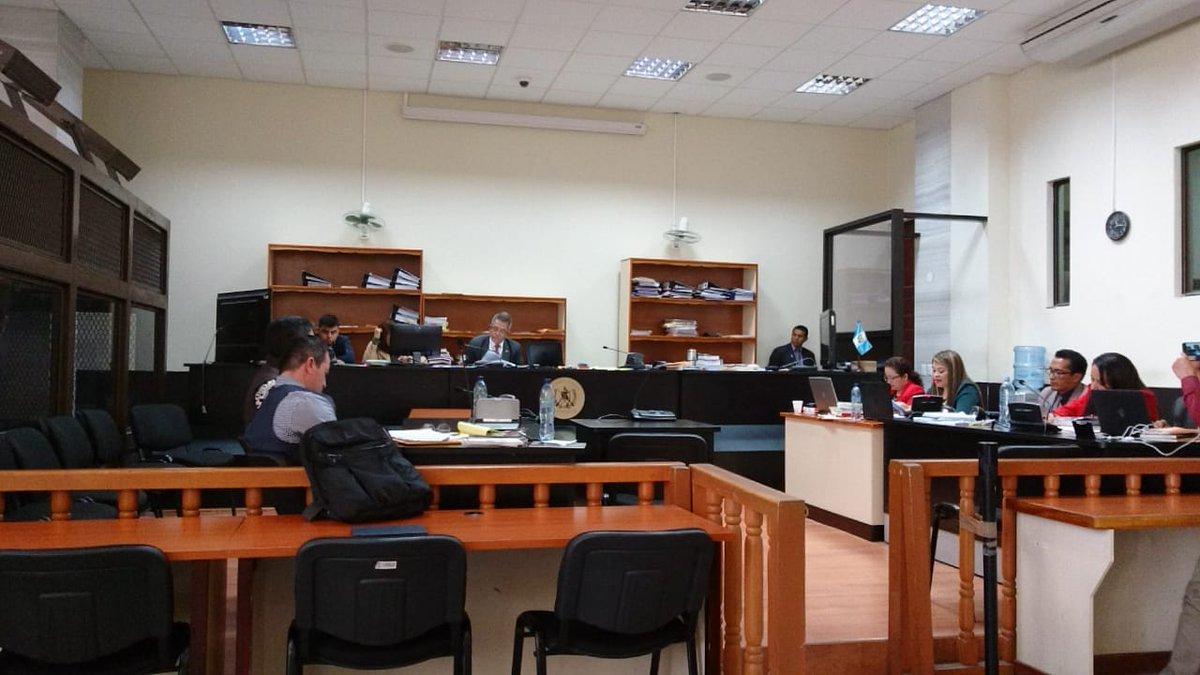 El juez Miguel Gálvez anuló tres audiencias de indagatoria contra Raúl Osoy y la Fiscalía volvió a repetir la acusación. (Foto Prensa Libre: Kenneth Monzon)