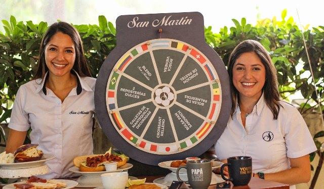 Celebran a papá y el Mundial en San Martín