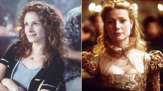 """Julia Roberts ganó un Oscar por su papel de Erin Brockovich dos años después de que Gwyneth Paltrow lo ganara por """"Shakespeare enamorado"""". GETTY IMAGES/PA"""