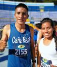 Mario Pacay y Merlin Chalí no encontraron oposición para conquistar la carrera San Silvestre 2018 (Foto Prensa Libre: Francisco Sánchez)