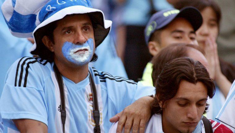 Los aficionados argentinos no están entusiasmados por el juego contra Guatemala. (Foto Prensa Libre: Hemeroteca PL)