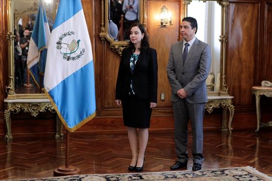 Ivanova Ancheta fue nombrada en el 2013 como viceministra de Energía y Minas. (Foto Prensa Libre: Hemeroteca PL).